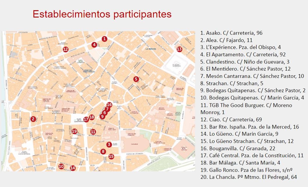 Mapa establecimientos