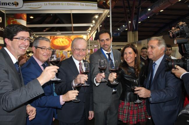 Paco de la Torre y Javier Frutos en la inauguración de H&T en Fycma.
